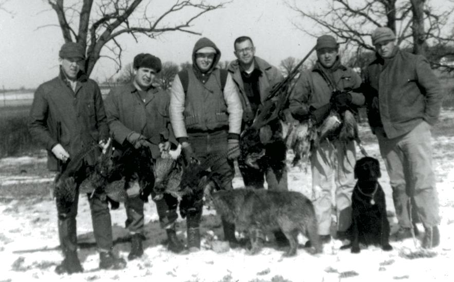 Chi Delta Rho pheasant hunt 1963