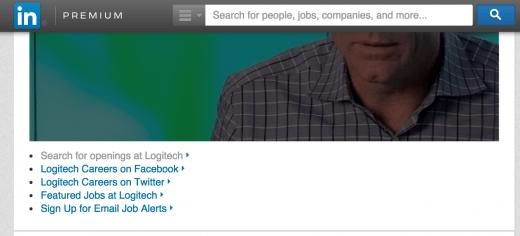 LogiTech LI page