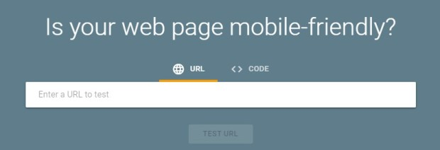 Tools - Google Mobile-Friendly Test