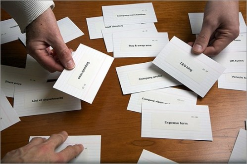 card sorting ux