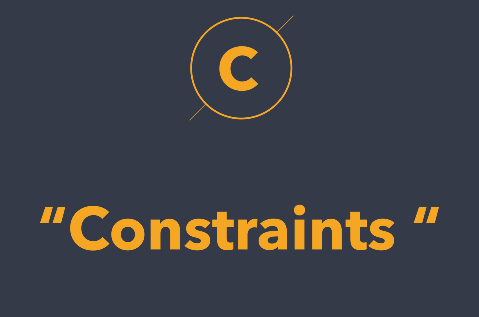 Constraints là gì? Nó được áp dụng ra sao vào thiết kế?