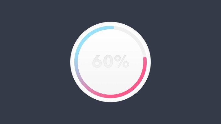 Sketch Tips / Tricks / Tutorials: How to Design a colorful progress bar on Sketch