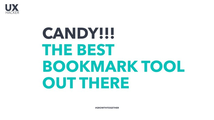 Check out Candy - Best Bookmarks for the 21st century - UX Hacker