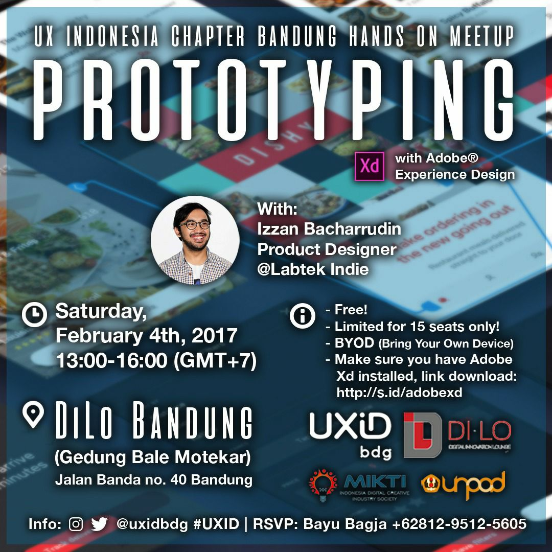 UXID Bandung Meetup: Prototyping Using Adobe XD