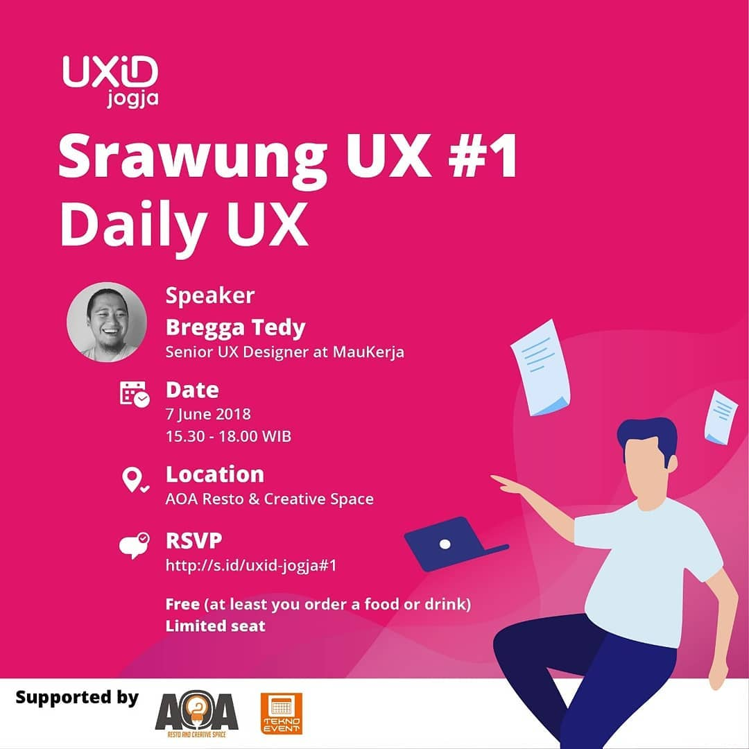UXID Jogja – Srawung UX #1: Daily UX