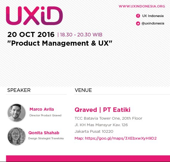 UXID Meetup – Oktober 2016 – UX And Product Management
