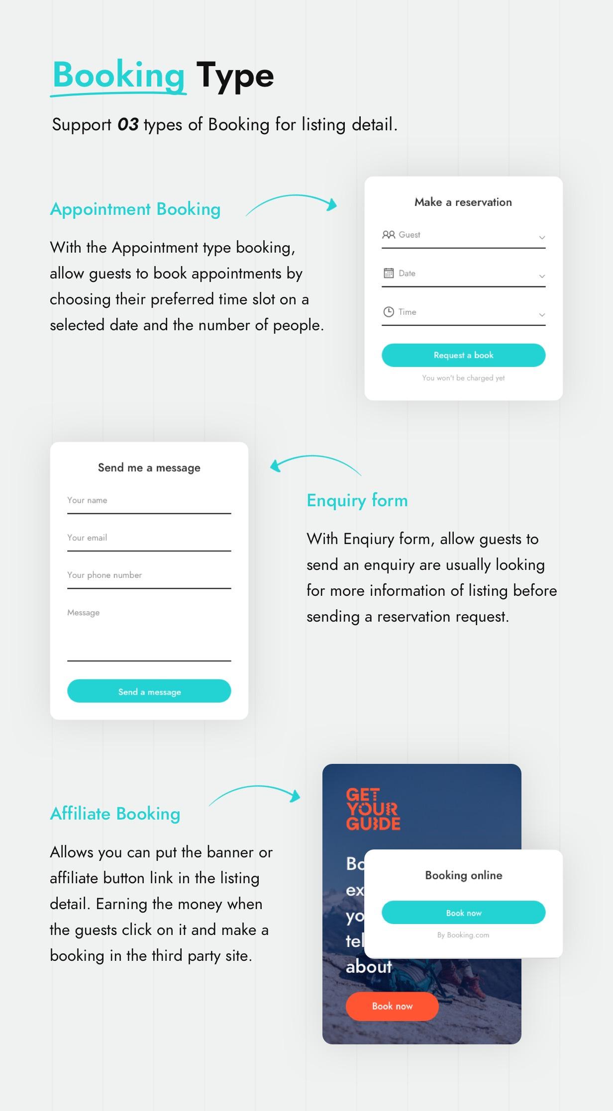 Booking Type