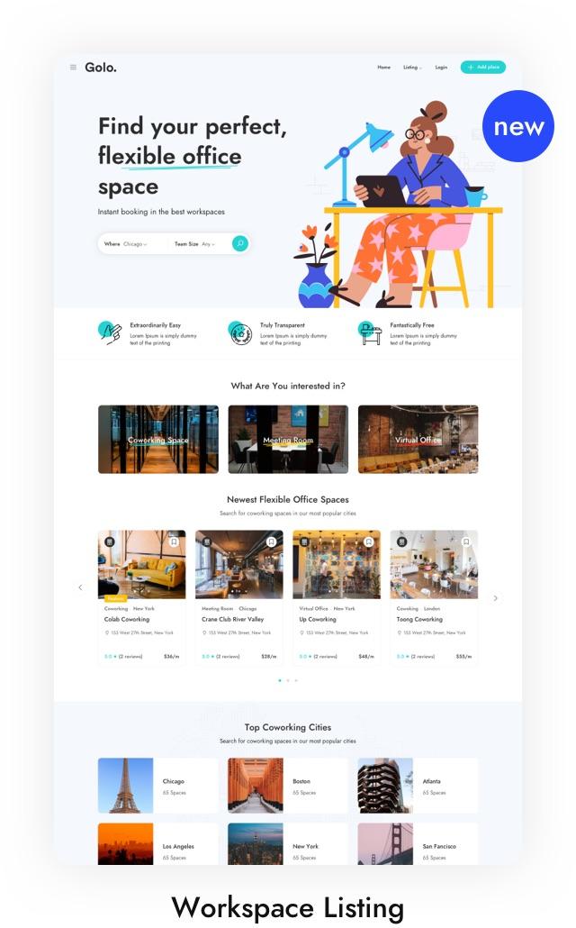 Restaurant Listing WordPress Theme