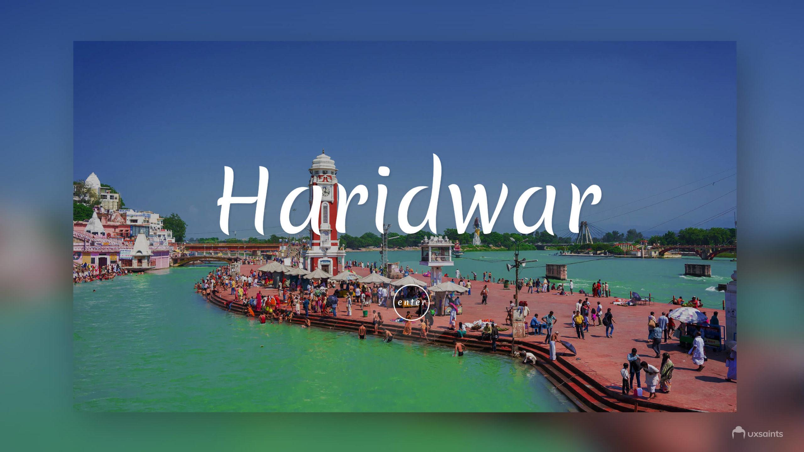 Haridwar Website Header