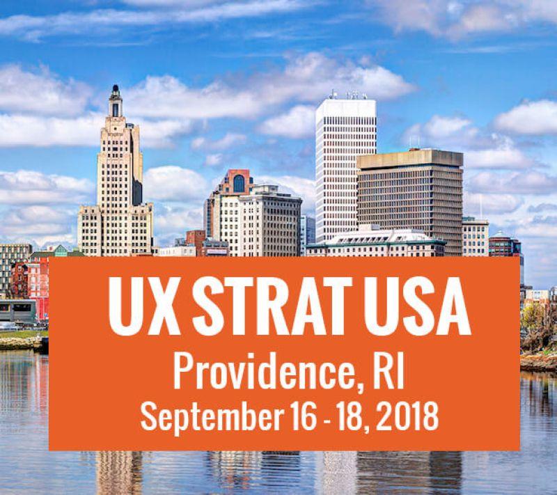 Image result for UX STRAT USA 2018