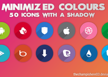 Minimized Colours Icon