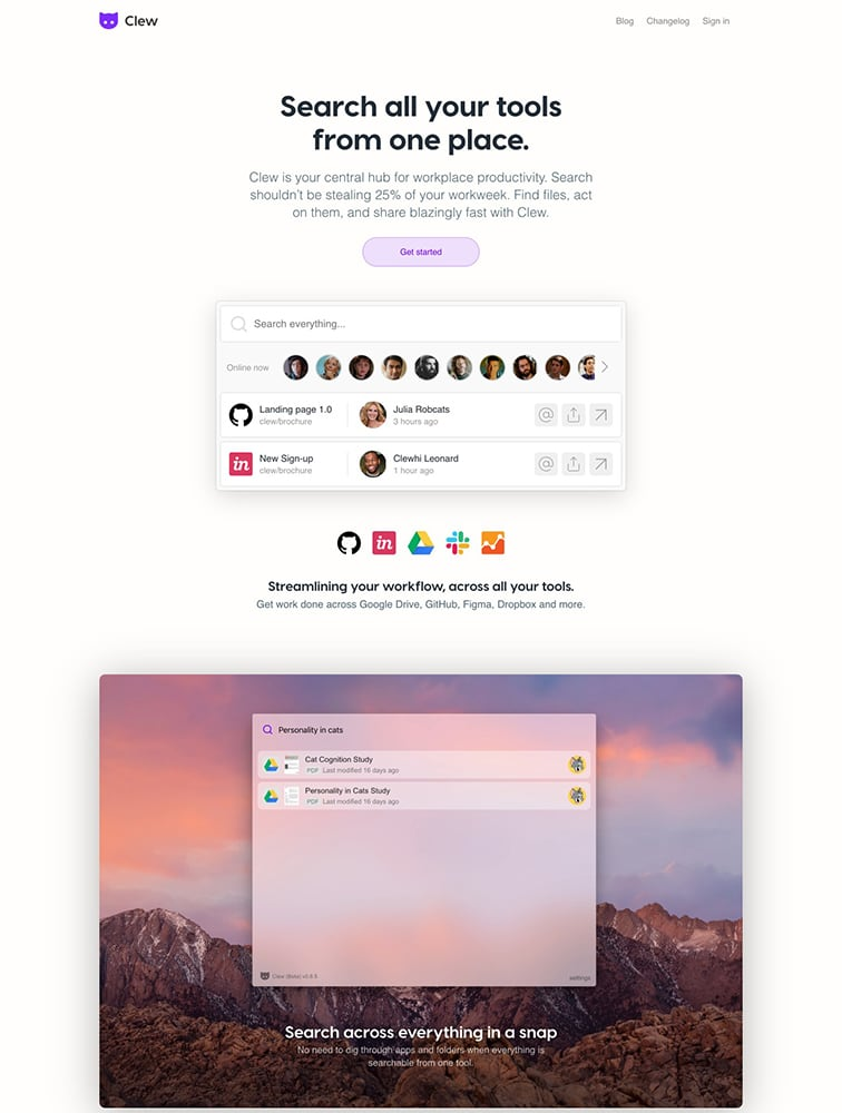 Clew Ui Inspiration