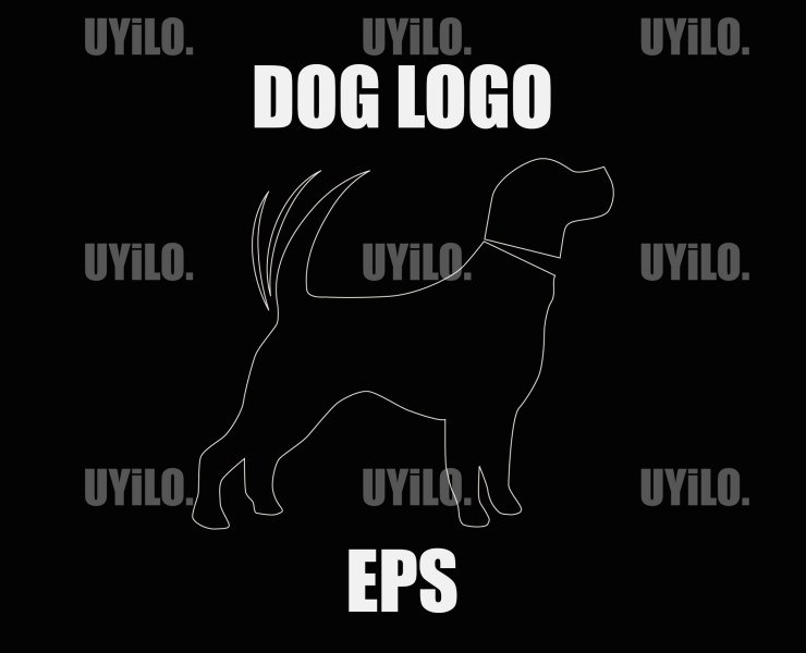 UYiLO - Dog Logo, Sketch