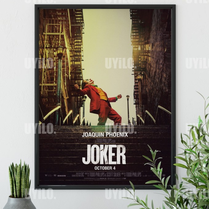 Joker three (2019) Poster, Movie Poster, Print, Movie Poster, Print Instant Download
