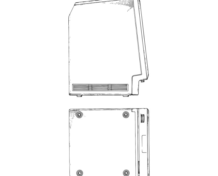 Apple USD285687 Patent Monitor, Illustration in several files Instant Download Fig 4 and Fig 5