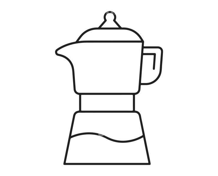 Coffee Kettle Logotype Template