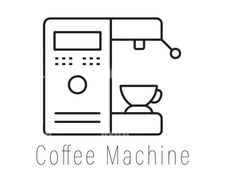 Coffee Machine Logotype