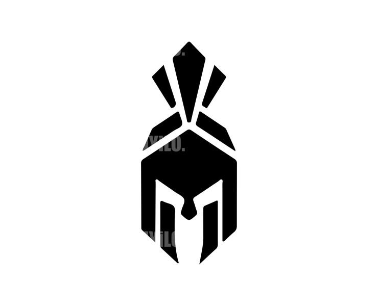 Greek Helmet Logo Design