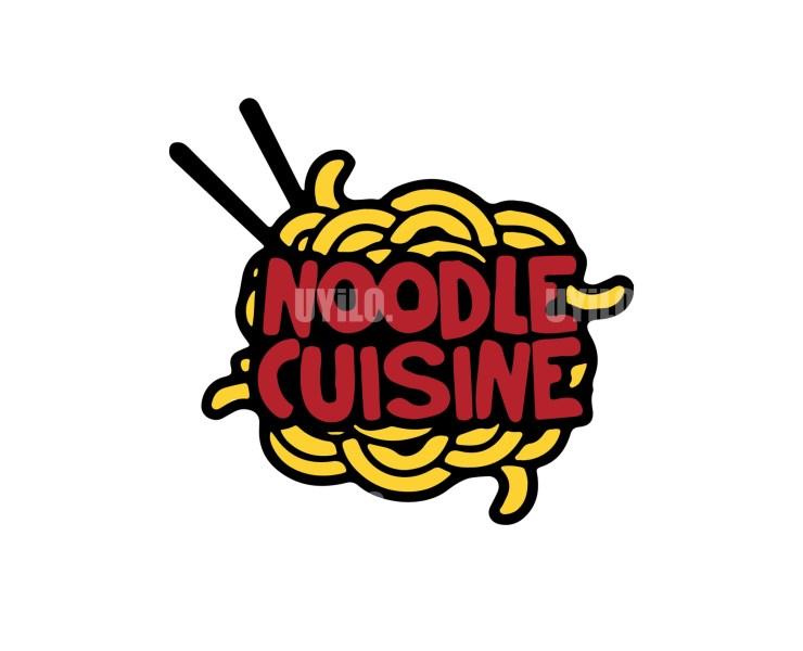 Illustration Logo Noodle Cuisine 2