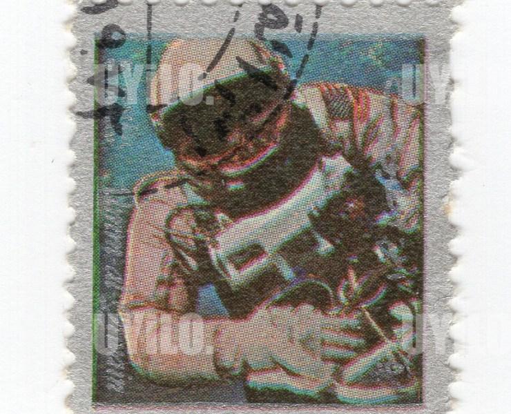 1972 Umm Al Qiwain 5 Space Mission Postage Stamps 14