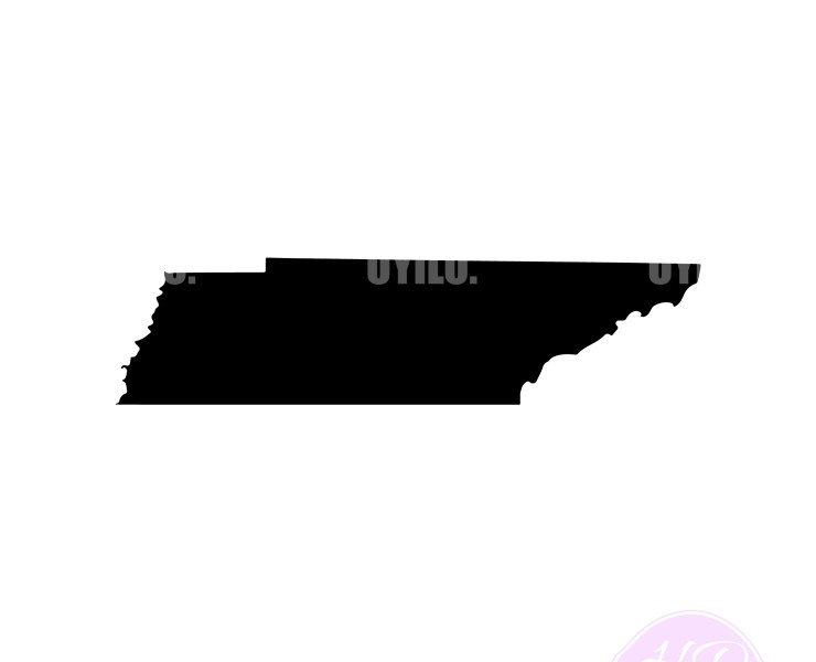 Tennessee Silhouette, Digital Download