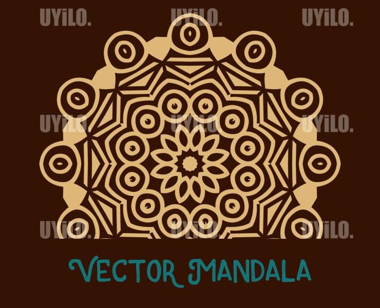 Vector Mandala 2, Instant Download