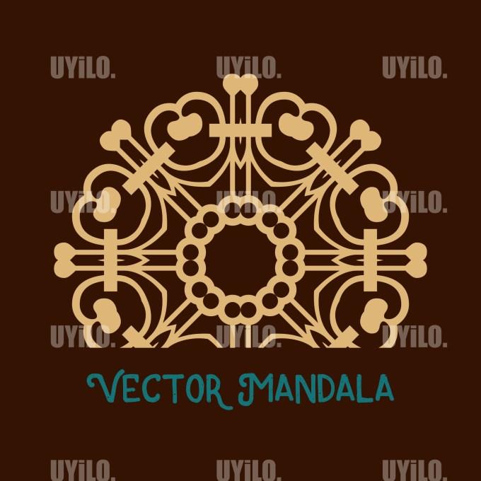 Vector Mandala 21, Instant Download