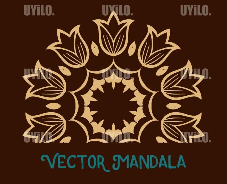Vector Mandala 27, Instant Download