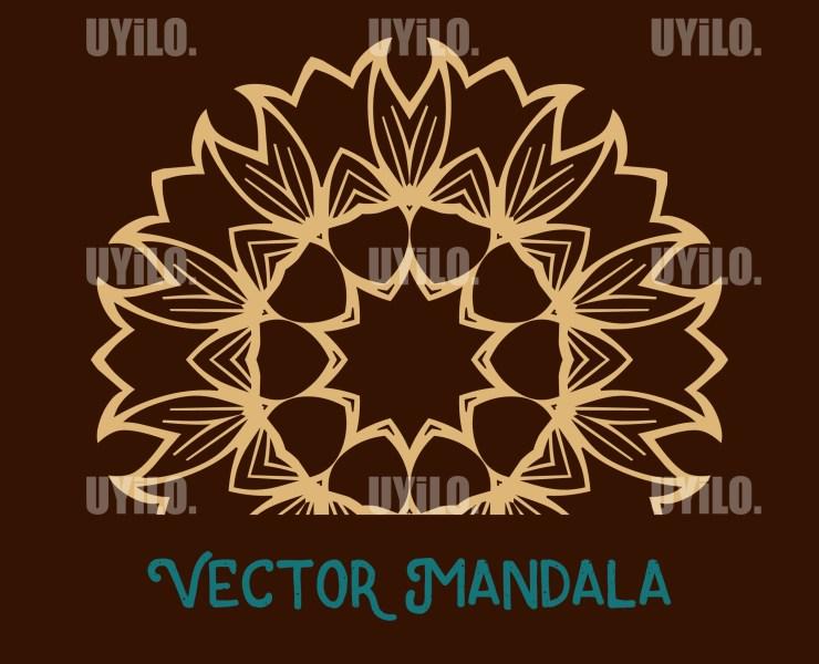 Vector Mandala 28, Instant Download