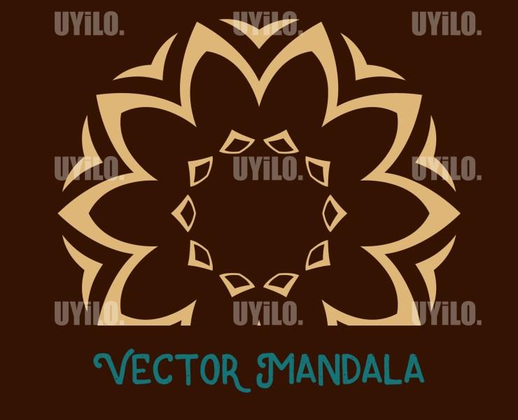 Vector Mandala 30, Instant Download