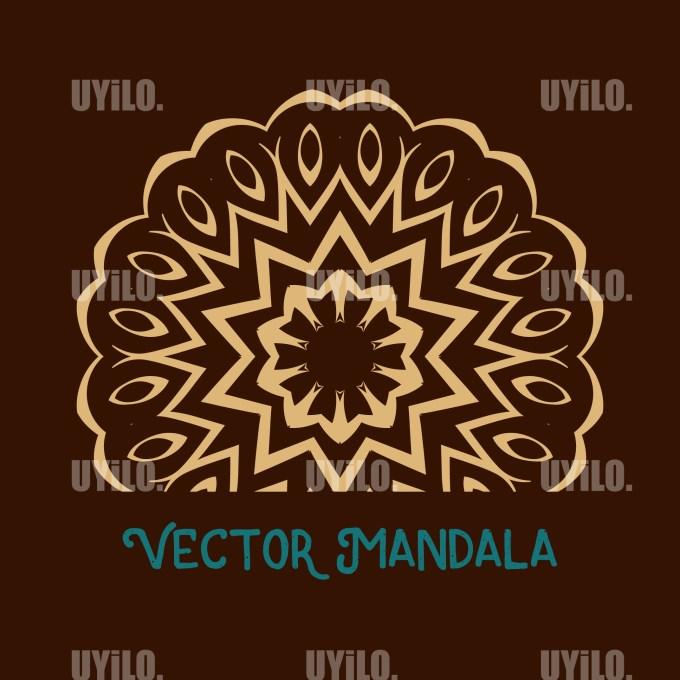 Vector Mandala 31, Instant Download