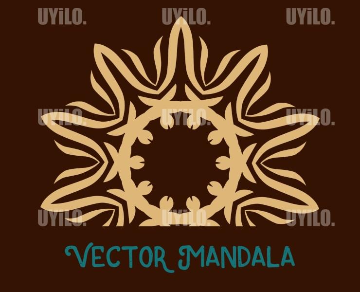 Vector Mandala 42, Instant Download
