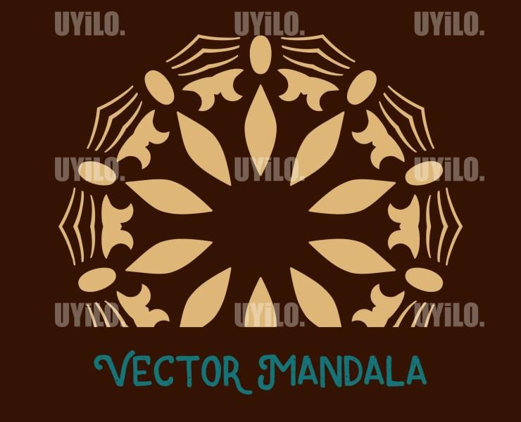 Vector Mandala 49, Instant Download