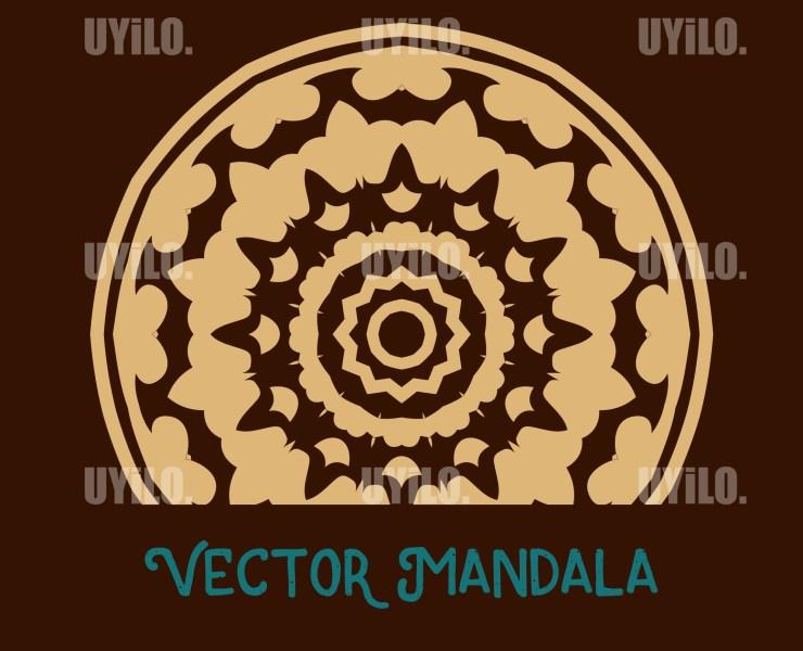 Vector Mandala 5, Instant Download