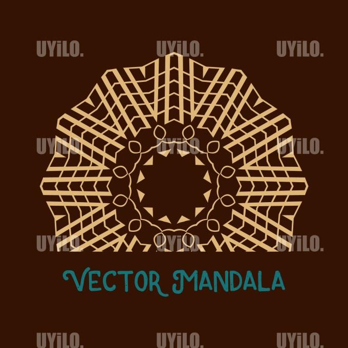 Vector Mandala 57, Instant Download