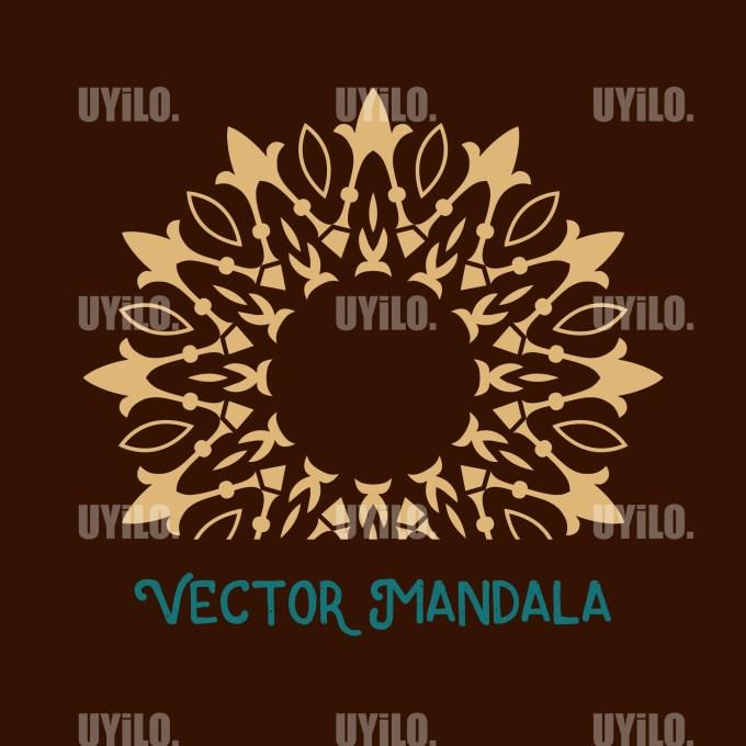 Vector Mandala 75, Instant Download