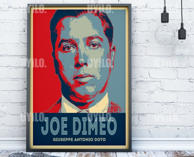 Giuseppe Antonio Doto in the style of the iconic Barack Obama Hope Poster