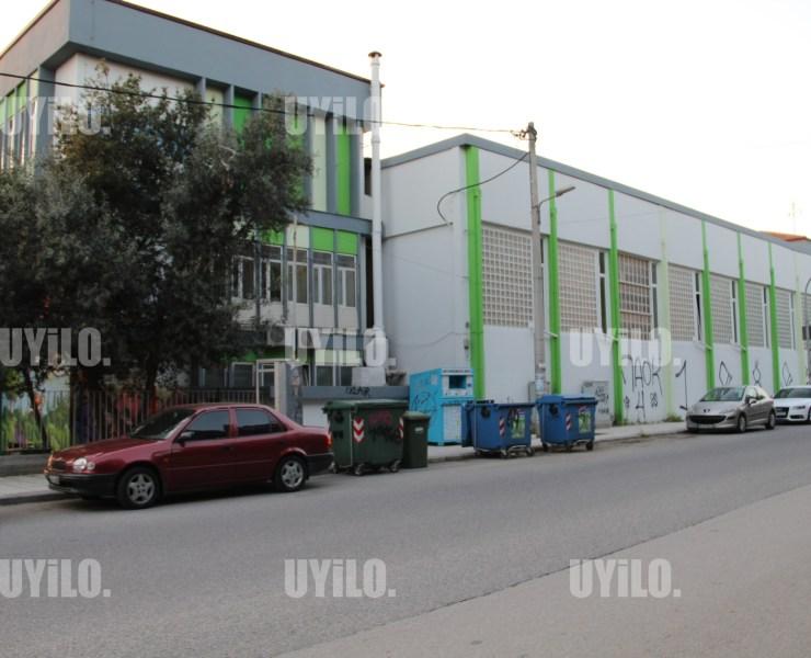 School in the Area of Pavlos Melas, Thessaloniki Greece