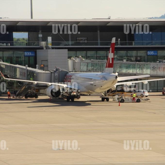 Switzerland International Airport of Zurich