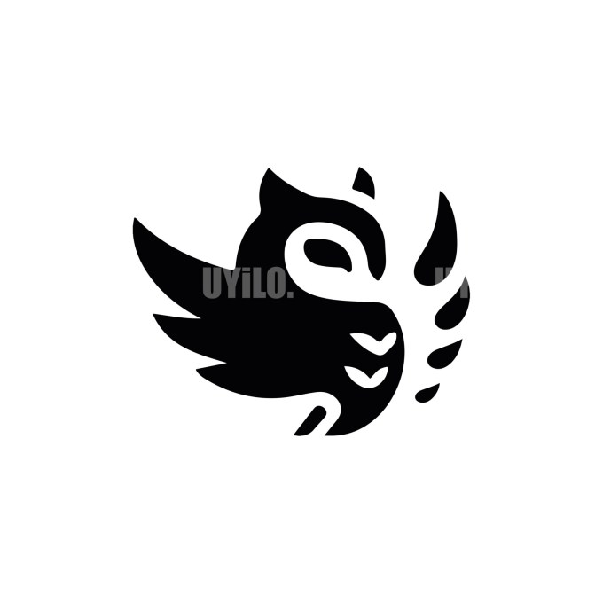 Owl -12 Minimal Logo