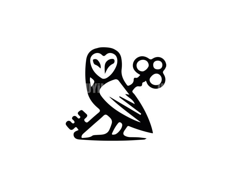 Owl -15 Minimal Logo