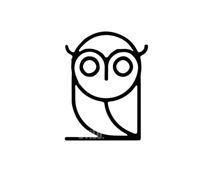 Owl Logo -11 Animals