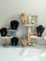 Rustic display stands
