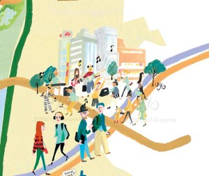 産業・観光ビジョン みらいマップ 表参道原宿 / Client 渋谷区