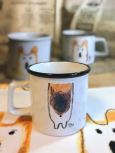 MR.Corgi HugMug-black-back