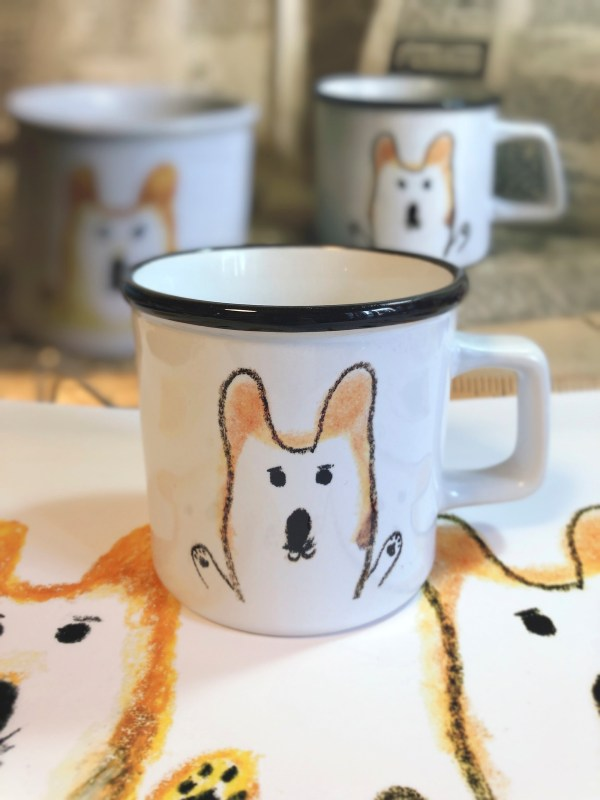 MR.Corgi HugMug-black-front