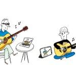 島村楽器2020-02autumn campaign-Acoustic guitar online lesson