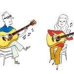 島村楽器2020-02autumn-Acoustic guitar real lesson