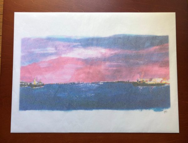 Giclee Art Print - Yokohama Port-Packing