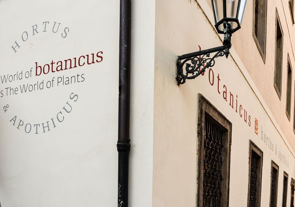 Магазины в Праге. Магазин «Botanicus»